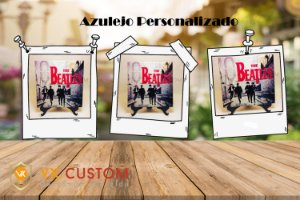 The Beatles Azulejo Personalizados