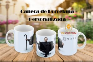 Presente Criativo Caneca Personalizada Doutor House