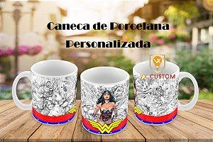 Presente Criativo Caneca Mulher Maravilha