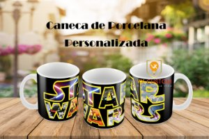 Canecas Personalizada Star Wars - Santo André