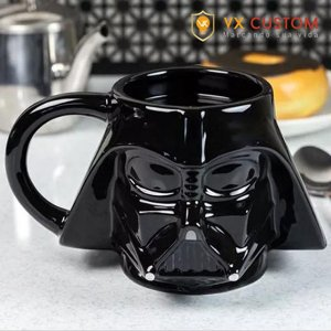 Caneca de Porcelana Darth Vader 3D Star Wars