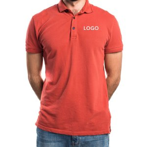 Camiseta Polo Piquet Bordado
