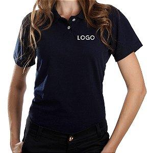 Camiseta Polo Piquet Bordado - São Paulo - Uniforme para Empresas