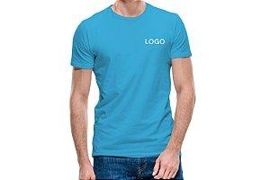 10 Camisetas Básica Lisa Bordada Uniformes Santo André