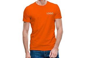 10 Camisetas Básica Lisa Bordada Uniformes São Paulo