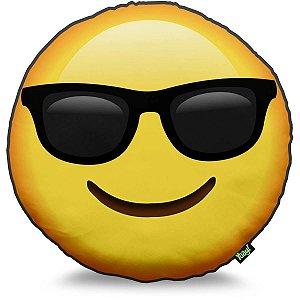 Almofada Emoji Óculos de sol