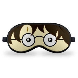 Máscara de Dormir Feiticeiro de Óculos