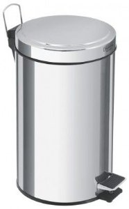 LIXEIRA INOX C/PEDAL E BALDE 20 LTS - Brinox