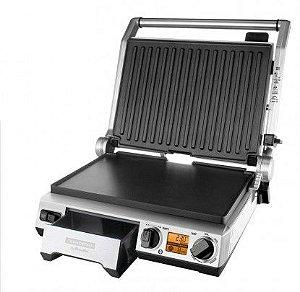 Smart Grill Aço Inox Placa Antiaderente 110v - Tramontina