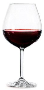 Jogo de 6 Taças Gastro para Vinho Tinto 650 ml - Crystal Bohemia
