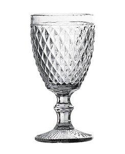 Jogo 6 Taças Água 244 ml Bico de Jaca Transparente - Hauscraft
