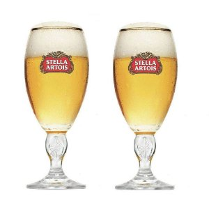 Conjunto de Taças para Cerveja Stella Artois 250ml - 2 peças - Crisal