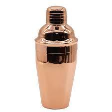 Coqueteleira em inox Com Revestimento de cobre 500ml
