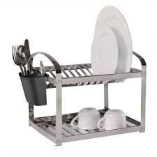 Escorredor de Pratos Inox - Capacidade 12 pratos - Brinox