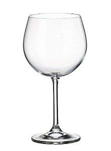 Taça Gin Bohemia Gastro Cristalc/titânio 570 ml cx c/ 6 pç