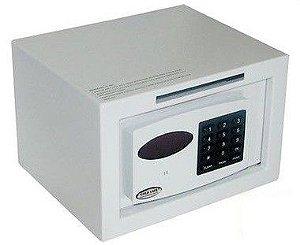 Cofre Eletrônico Personal com Boca de Lobo e Auditoria - Cofres Gold Safe