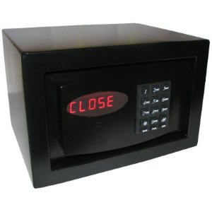 Cofre Eletrônico c/ Auditoria Mod. Personal Black - Cofres Gold Safe