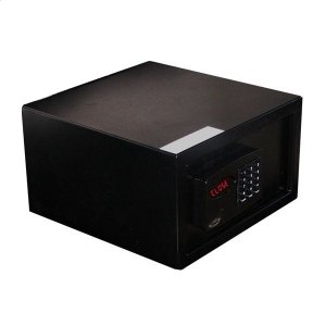 Cofre Eletrônico Office Top Black com Display Digital Gold Safe