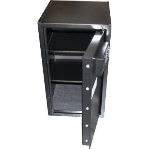 Cofre Eletrônico Seven Black com Display Digital - Cofres Gold Safe