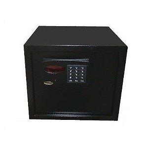 Cofre Eletrônico Com Display Digital e Prateleira Organizadora Mod. Empresarium Black