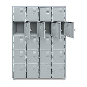 Roupeiro 20 portas pequenas # 26 c/ pitão 1980X122.5X400