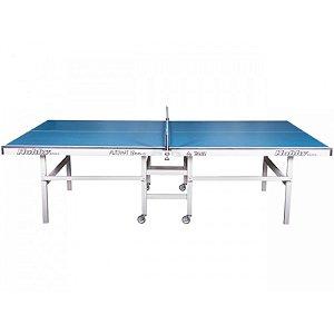 Mesa de ping pong automat 18MM tampos de mdf e pés de madeira com rodas