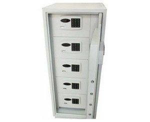 Cofre Eletrônico Com 5 Gavetas Eletrônicas Internas Mod. Big Company