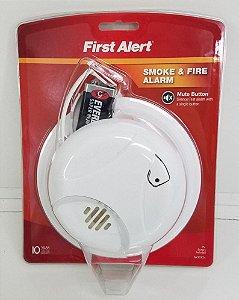 Detector de fumaça e alarme de incêndio – First Alert