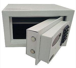 Cofre Eletrônico Digital Com Sistema de Retardo na Abertura Mod. Personal Smart