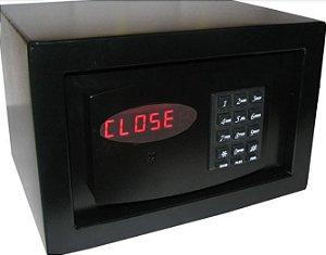 Cofre Eletrônico Pequeno Para Hotéis, Pousadas e Hospitais Mod. Box Hotels Black