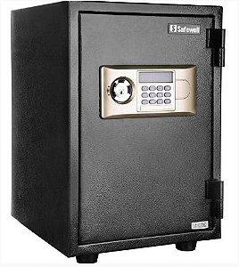 Cofre Digital  Anti Chamas com Senha Eletrônica  e Chave Dupla
