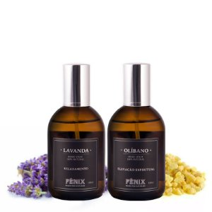 Kit Home Spray Olíbano +  Lavanda (100ml cada)
