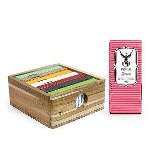 Kit Mais Vendidos c/ 7 caixas + Caixa organizadora Teca + Gerânio