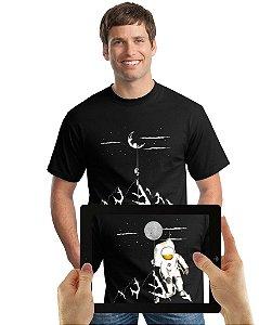 Camiseta Astronauta com Realidade Aumentada