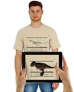 Camiseta DINOSSAURO com Realidade Aumentada
