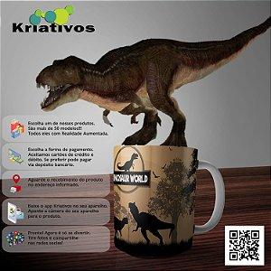 Caneca Dinossauro com Realidade Aumentada