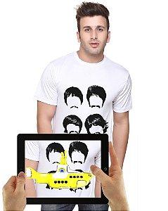 Camiseta BEATLES com Realidade Aumentada