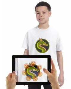 Camiseta SHENLONG com Realidade Aumentada