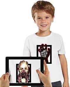 Camiseta Zimbies com Realidade Aumentada