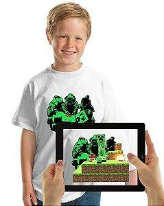 Camiseta CREEPER com Realidade Aumentada