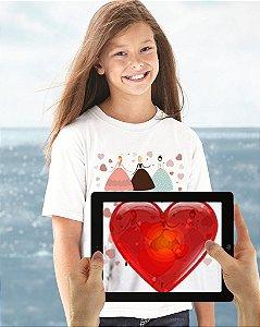 Camiseta Bailarinas com Realidade Aumentada