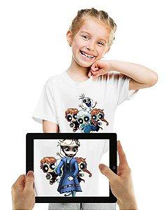 Camiseta Frozen com Realidade Aumentada