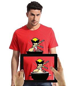 Camiseta Wolverine com Realidade Aumentada