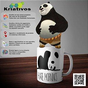 Caneca Panda com Realidade Aumentada