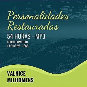PERSONALIDADES RESTAURADAS EM MP3 - CARTÃO MICRO SD de 8GB CONTENDO 6,91 GB