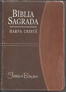 BÍBLIA SAGRADA - HARPA CRISTÃ - REVISTA E CORRIGIDA COM ZÍPER