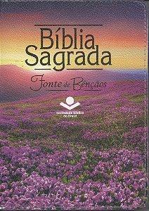 BÍBLIA FONTE DE BÊNÇÃOS COM ZÍPER
