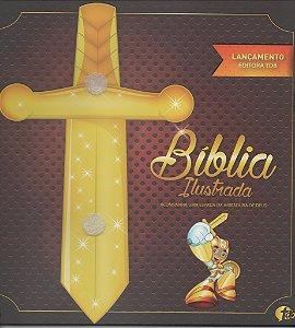 BÍBLIA ILUSTRADA INFANTIL (ACOMPANHA UMA ESPADA DE EVA)