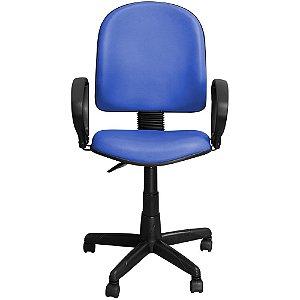 Cadeira para Escritório Excellence Giratória Azul - Pethiflex