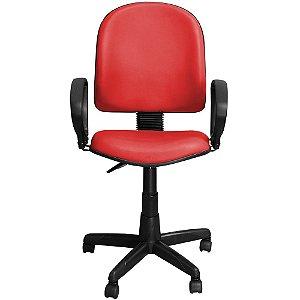 Cadeira para Escritório Excellence Giratória Vermelha - Pethiflex